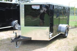 Cargo Trailer with Spare Tire