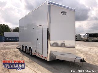 ATC Stacker Car Hauler with Premium Escape Door