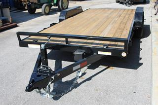 Sure Trac Trailer with Wood Deck
