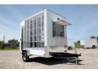 trailer for sale ATC Quest Aluminum Clear Display Case Trailer