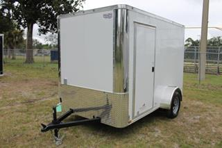 Cargo Trailer with Concession Trailer