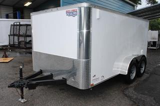 Enclosed Trailer with Side Vents