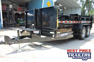 Sure Trac Dump Trailer with Combo Gate