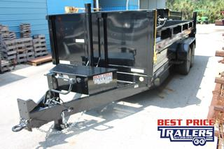 Sure Trac Dump Trailer with Wireless Remote