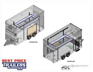 Stacker Trailer with Lift