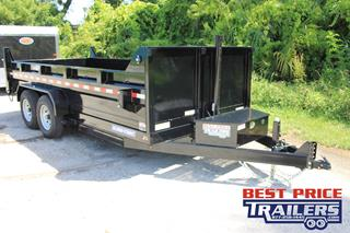 Sure Trac Dump Trailer with Tarp