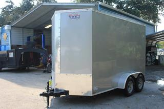 Cargo Trailer with D-Rings