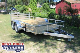 H&H Utility Trailer with Spare Tire Mount
