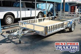 ATV Trailer with Spare Tire Mount