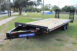 Equipment Trailer with HD Ramps