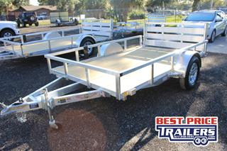 H&H Utility Trailer with Wood Deck