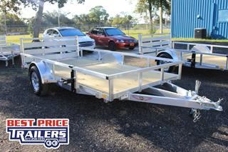 Utility Trailer with Wood Deck