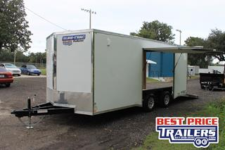Sure Trac Car Hauler with Escape Door