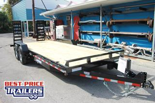 Sure Trac Equipment Trailer with Spare Tire Mount