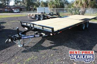 Equipment Trailer with Spare Tire Mount