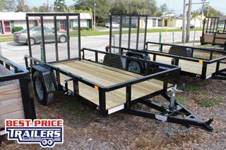 Sure Trac Utility Trailer with Fold Flat