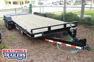 Sure Trac Implement Trailer with Spare Tire Mount