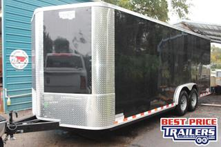 Car Hauler with Keyed Side Door