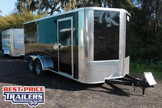 Arising Cargo Trailer with Rear Ramp Door