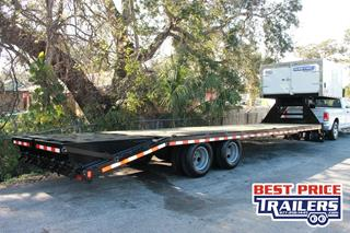 Equipment Trailer with Enclosed Front
