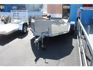 open motorcycle trailer