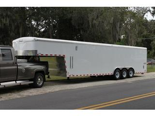 enclosed cargo trailer 8.5X36