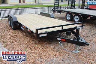 Car Hauler with Pressure Treated Deck