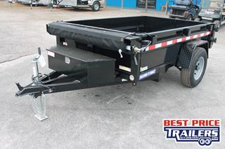 Dump Trailer with Tarp