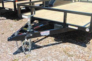 Utility Trailer with Spare Tire Mount