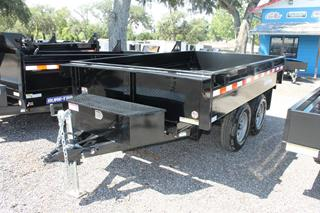 Deck Over Dump Trailer