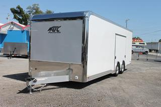 Aluminum Enclosed Car Hauler
