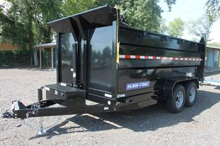 Dump Trailer with 4ft Sides and Tarp