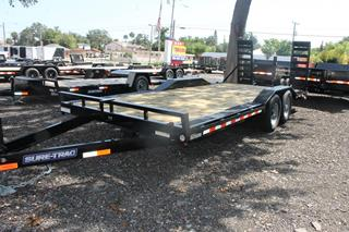 Equipment Trailer with Drive Over Fenders