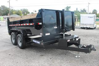 Preowned Dump Trailer with Tarp