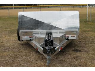 7x18 H&H Aluminum Car Trailer