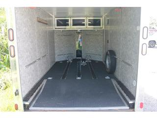 Cargo Mate 7x12 Enclosed Motorcycle Trailer