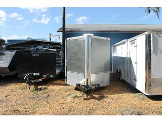 Pre-Owned 2006 Horton Hauler Enclosed Motorcycle Trailer