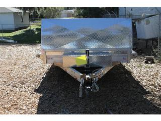 Open Car Trailer 8.5x26 H&H