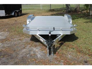 Cargo Mate 7x18 Open Aluminum Car Trailer
