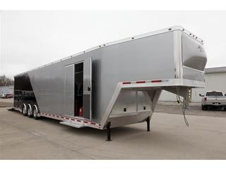 ATC 8.5x46 Enclosed Gooseneck Car Trailer