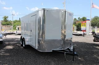 Cargo Trailer with Soft V Nose