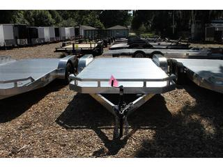 Cargo Mate Aluminum Car Trailer