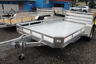 Aluminum Utility Trailer with Aluminum Deck