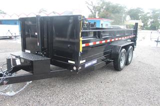 Telescopic Dump Trailer