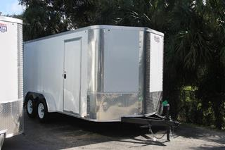Cargo Trailer with Rounded V Nose
