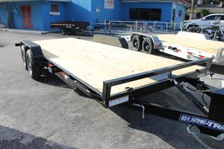 Open Car Trailer with Tilt Bed
