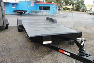 Steel Deck Open Car Hauler