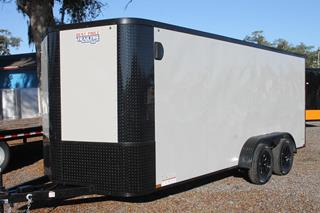 Cargo Trailer with Blackout Package