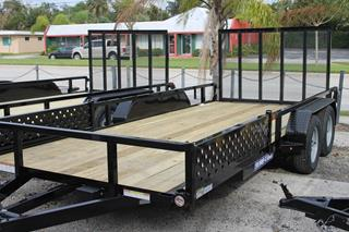 ATV Trailer with Removable Ramps
