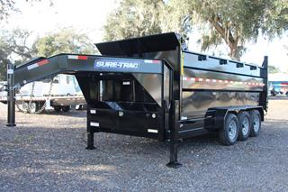 Dump Trailer with 4ft Sides